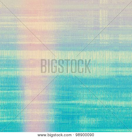 Retro background with grunge texture. With different color patterns: yellow (beige); blue; cyan; pink