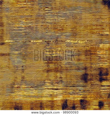 Old grunge textured background. With different color patterns: yellow (beige); brown; purple (violet); gray