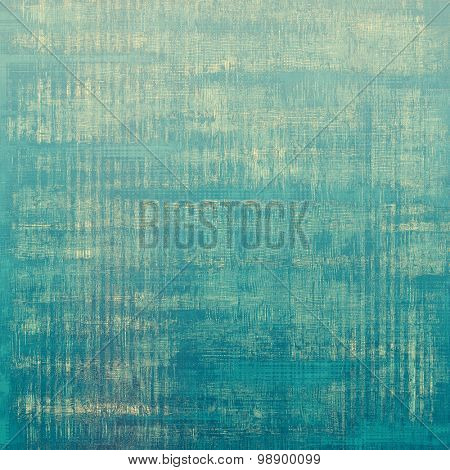 Retro background with grunge texture. With different color patterns: yellow (beige); blue; gray; cyan