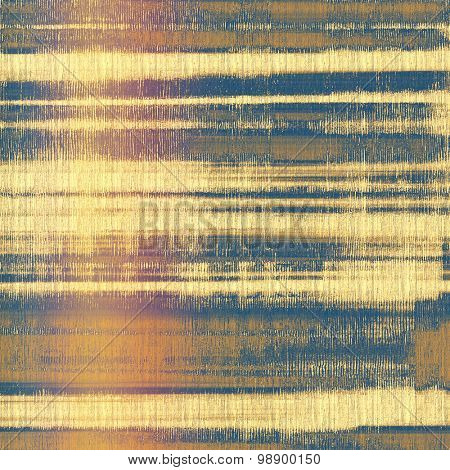 Grunge old texture as abstract background. With different color patterns: yellow (beige); brown; purple (violet); blue
