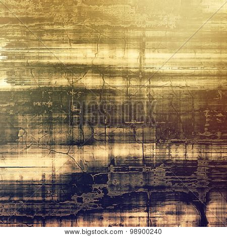 Highly detailed grunge texture or background. With different color patterns: yellow (beige); brown; purple (violet); gray