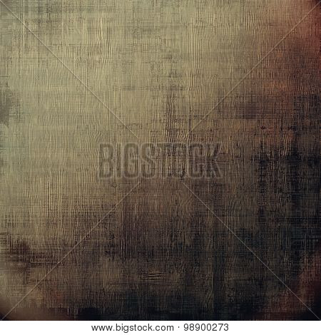 Designed background in grunge style. With different color patterns: yellow (beige); brown; gray; black