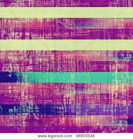 Abstract old background with rough grunge texture. With different color patterns: yellow (beige); green; purple (violet); blue
