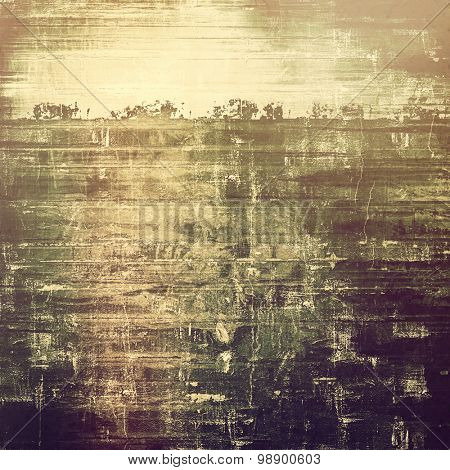 Antique grunge background with space for text or image. With different color patterns: yellow (beige); brown; purple (violet); gray