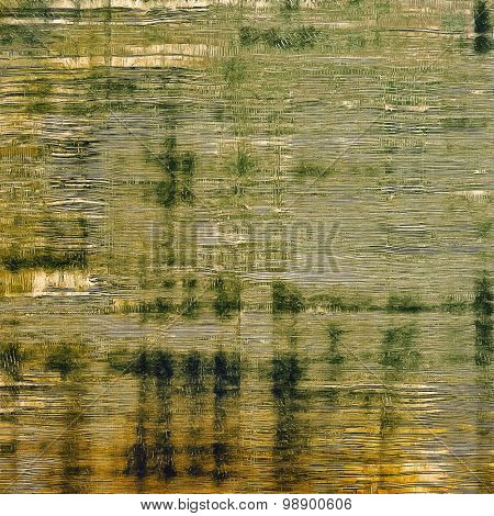 Retro texture. With different color patterns: yellow (beige); brown; green; gray