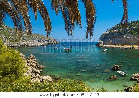 Anthony Quinn Bay On Rhodes