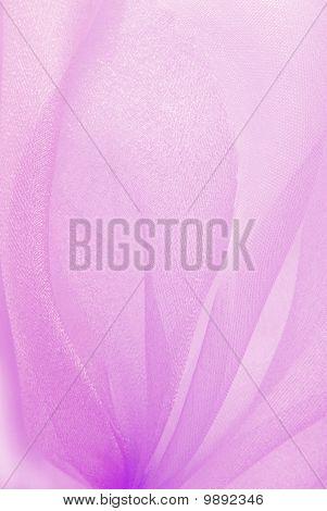 pink organza fabric