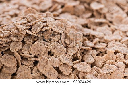 Wholemeal Cornflakes Food Background