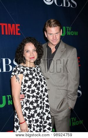 LOS ANGELES - AUG 10:  Valeria Mason, Dash Mihok at the CBS TCA Summer 2015 Party at the Pacific Design Center on August 10, 2015 in West Hollywood, CA