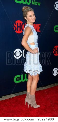 LOS ANGELES - AUG 10:  Maggie Lawson at the CBS TCA Summer 2015 Party at the Pacific Design Center on August 10, 2015 in West Hollywood, CA