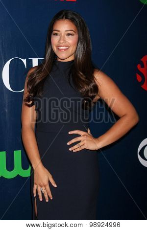 LOS ANGELES - AUG 10:  Gina Rodriguez at the CBS TCA Summer 2015 Party at the Pacific Design Center on August 10, 2015 in West Hollywood, CA