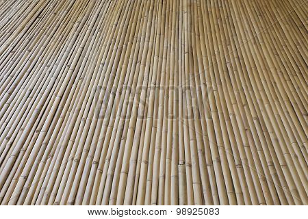 Bamboo Wall Texture Background