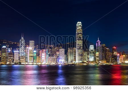 Hong Kong night scene