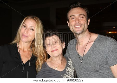 LOS ANGELES - AUG 15:  Rachel Marcus Goddard, Daniel Goddard, mother at the