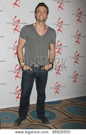 LOS ANGELES - AUG 15:  Daniel Goddard at the