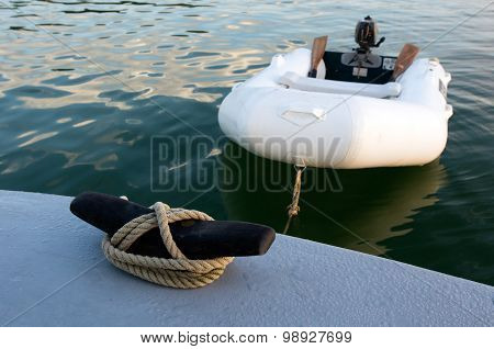 Rubber Inflatable Dinghy Boat
