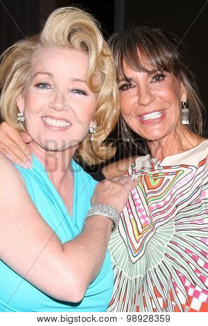 LOS ANGELES - AUG 15:  Melody Thomas Scott, Jess Walton at the