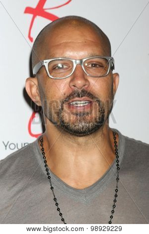 LOS ANGELES - AUG 15:  Terrell Tilford at the