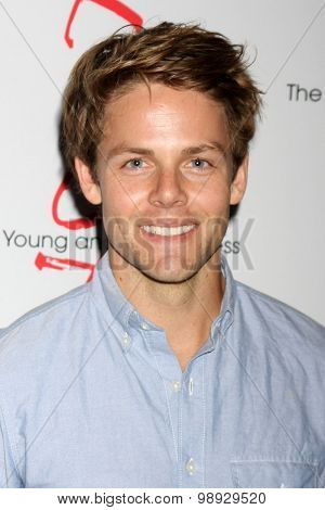 LOS ANGELES - AUG 15:  Lachlan Buchanan at the