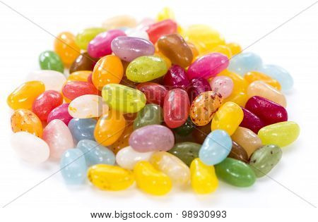 Jelly Beans (isolated On White)