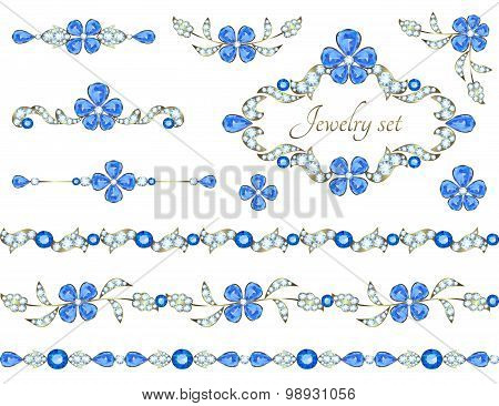 Jewelry decoration elements