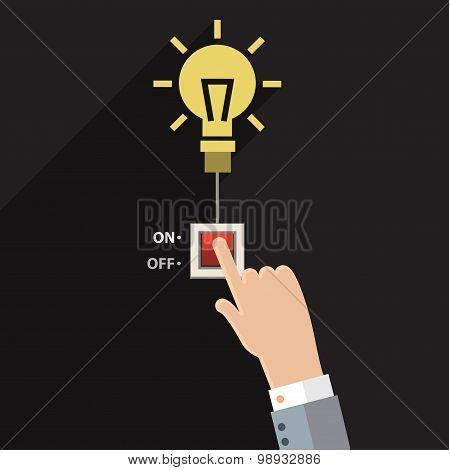 Turn on idea