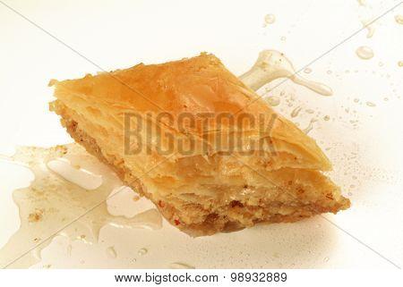 baklava sweet made with honey