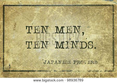 Ten Minds Jp