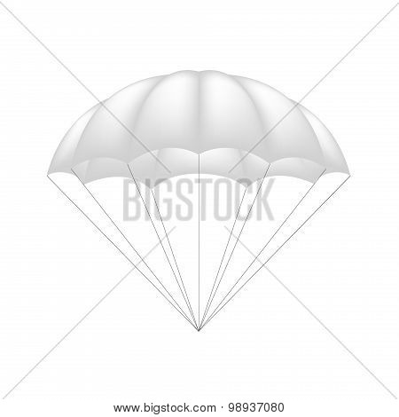 Parachute in white design