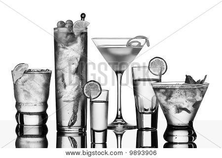 Six Vodka Cocktails