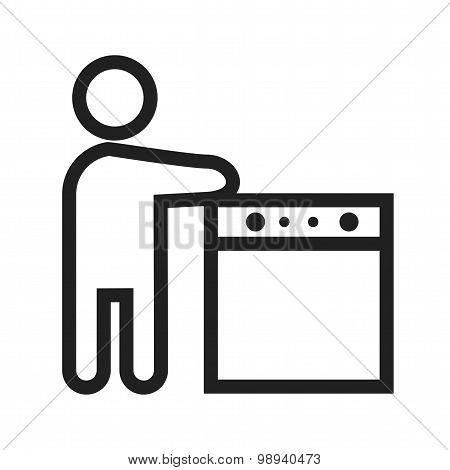 Washing utensils