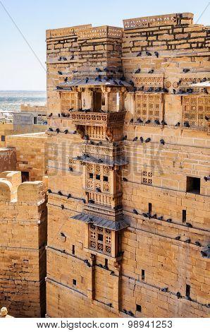 Golden Fort Of Jaisalmer, Rajasthan India