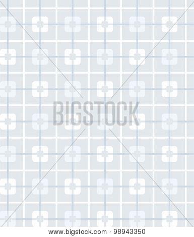 Grey-blue, Geometric, Seamles...