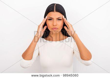 Suffering From Migraine.