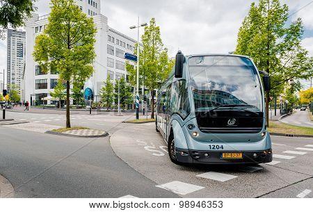 Bus Rapid Transit (phileas) In Eindhoven