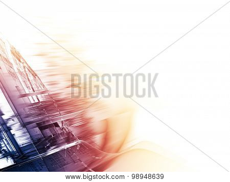 Abstract background. Detailed computer graphics.