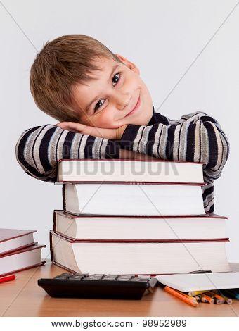 Cute Schoolboy