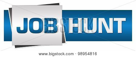 Job Hunt Blue Grey Button Style