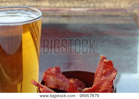 Beer and bacon.