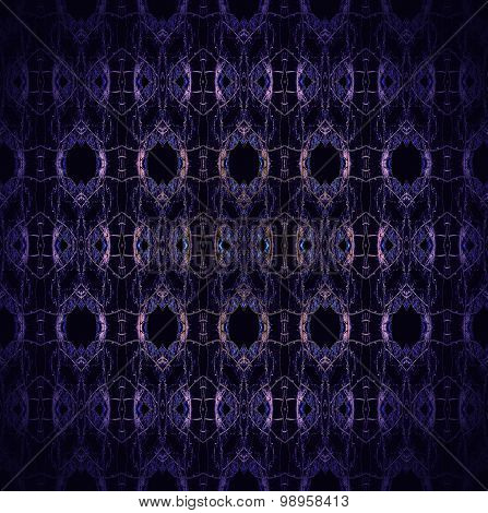 Seamless pattern purple black