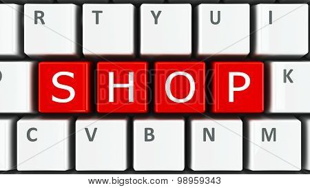 Computer Keyboard Shop