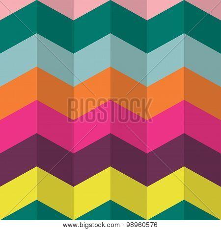 Chevron Stripes Seamless Pattern.