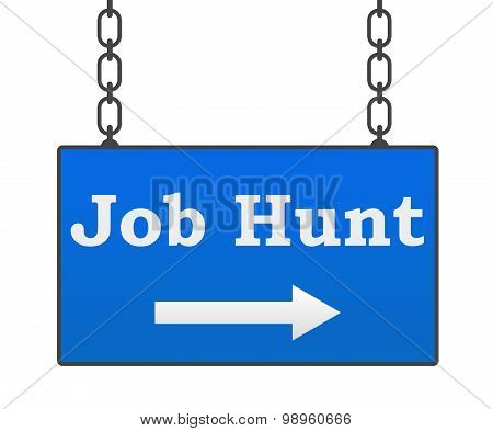 Job Hunt Signboard