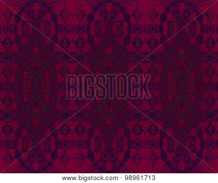 Seamless ellipses pattern dark red