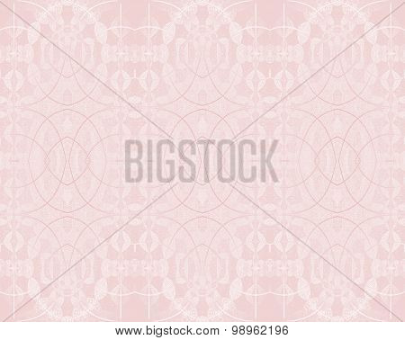 Seamless ellipses pattern pink shiny