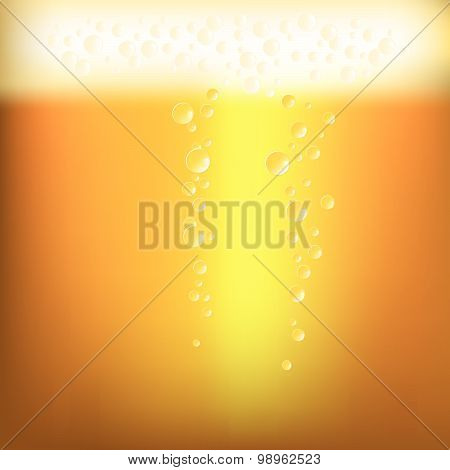 Illustration Of A Beer Texture Close Up