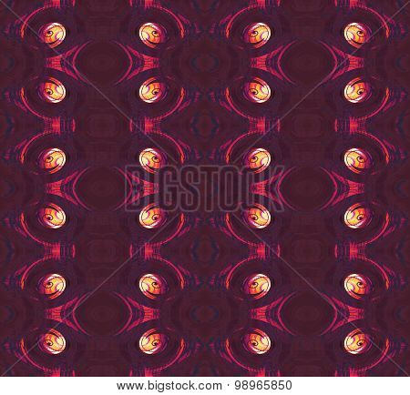 Seamless spiral pattern red violet yellow