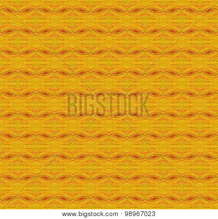 Seamless ellipses pattern orange red