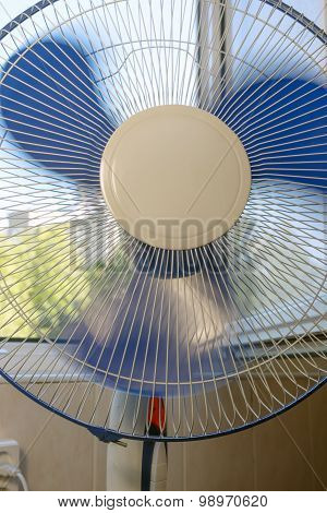 Fan Near An Open Window