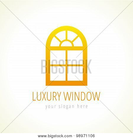 Luxury window logo
